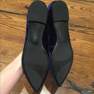 Marc Fisher Shoes - New Marc Fisher Blue Velvet flat Mary Janes Sz8.5